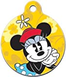 Platinum Pets Disney 1.5-Inch Smartphone Pet ID Tag with GPS, Minnie Mouse Design, My Pet Supplies