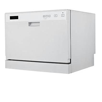 This Countertop Dishwasher Is The Perfect Size For Apartments, Dorm Rooms,  And Other Small Spaces And Features Electronic Controls With LED Display.
