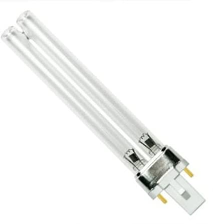 ZW9D12W-H145 Germicidal Sanitizer Ultraviolet Bulb G23 Base Lamp PL-S9//TUV Starlighting 9W 9 Watt UV-C