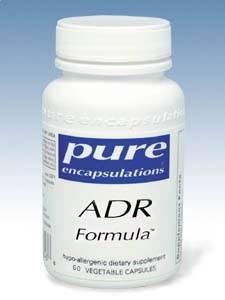 Support pour les glandes surrénales - Pure Encapsulations - ADR Formule 60 vcaps