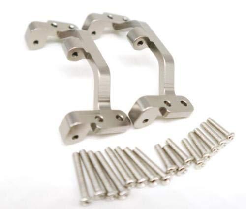 - APCS Aluminum Metal Upgrade DIY Parts for WPL C14 C24 Off-Road 1:16 Rc Car Titanium (WPL1604 2P Pull Rod Base Seat)