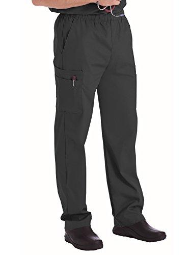 (Landau Essentials 8555 Men's Cargo Pant Graphite M Short)