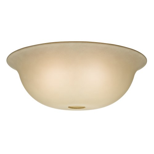 Alabaster Bowl Light - Casablanca 99058 Standard Shape Glass Bowl for 99023, Tea Stain