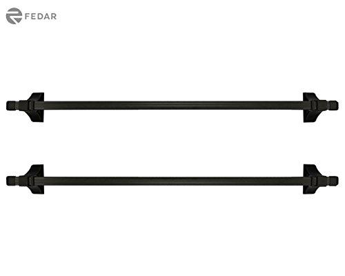 Fedar Universal Roof Rack Cross Bar Cargo Carrier for Most 4-Door Car/Truck/SUV Models