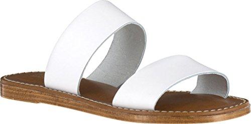 Bella Vita Sandale En Cuir Blanc Pour Femme Imo-italy