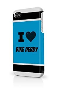 Bike Derby Blue For Iphone 5/5S Phone Case Cover