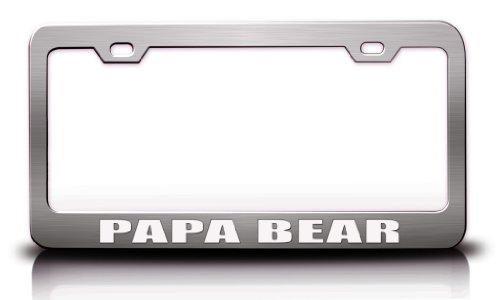 Family Steel Metal License Plate product image