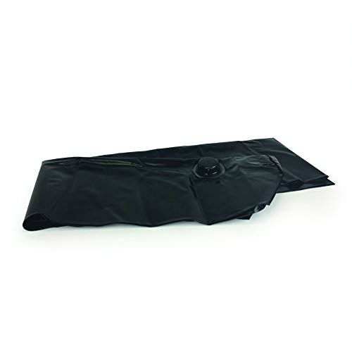 Quick Dam Water Filled, Water Curb diverts flood water, 6.5in high x 10ft long, 1-Pack (Barrier Water Filled)