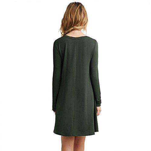 ESHOO - Camisas - para mujer Verde
