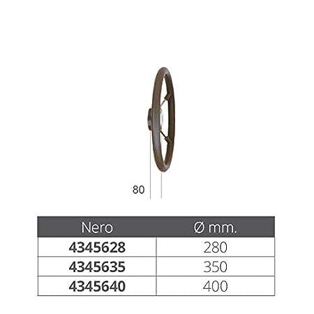 Osculati Volante Poliuretano 400 mm con Radio de Acero INOX
