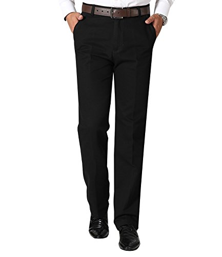 Minghe メンズ ビジネスチノパン ストレート ノータック ゆったり 裾上げ済み 薄手 綿 スラックス ウォッシャブル 美脚 ロングパンツ ビジネスパンツ 通勤 大きいサイズ 夏