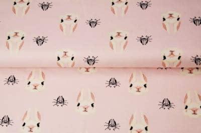 Tela de punto de conejo, tela de conejo – Tela para costura y ropa ...