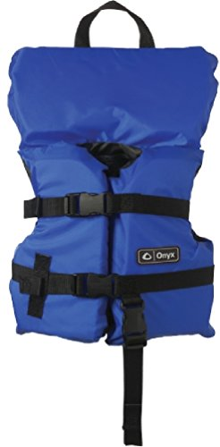 Onyx Universal General Purpose Infant Life Vest Blue up to 50 Lbs.