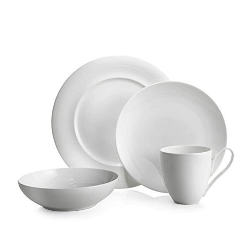 Nambé MT0854 4-Piece Dinnerware Place Setting, White