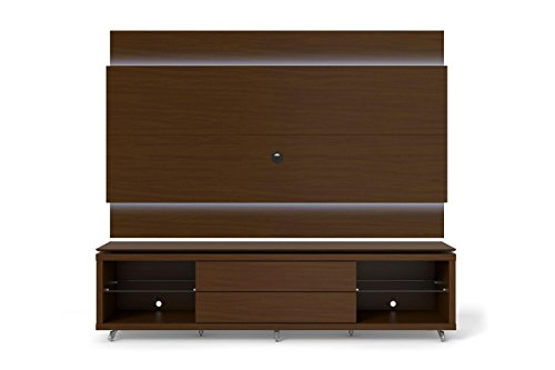 """Manhattan Comfort Lincoln 1.9 Series 77"""" TV Stand and Panel"""
