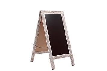 Planche en bois de trottoir ardoise tableau panneau tableau de