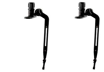 Scotty #141 Kayak/SUP Transducer Mounting Arm with Gear-Head (2-(Pack)) by Scotty