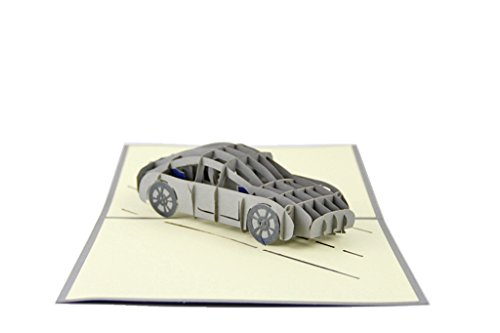 IShareCards® Handmade 3D Pop Up Greeting Cards for Every Occasion - Roadster (Sportscar) (Greeting Cars Cards)