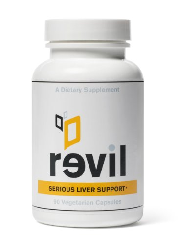 Revil - Sérieux Liver Support & Foie Detox (avec acide alpha-lipoïque, Bupleurum, chardon-Marie, la N-acétyl cystéine)