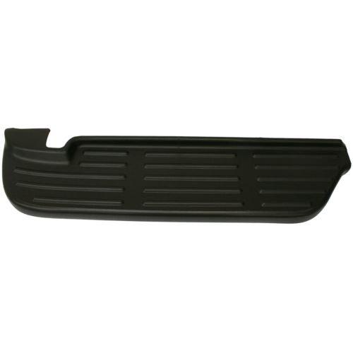 Make Auto Parts Manufacturing - F-SERIES SUPER DUTY 09-07 REAR BUMPER STEP PAD, LH, Upper, Black, ABS - FO1191113