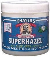 (Thayer Medicated Astringent Pads Superhazel with Aloe Vera 60 Pad(s) )