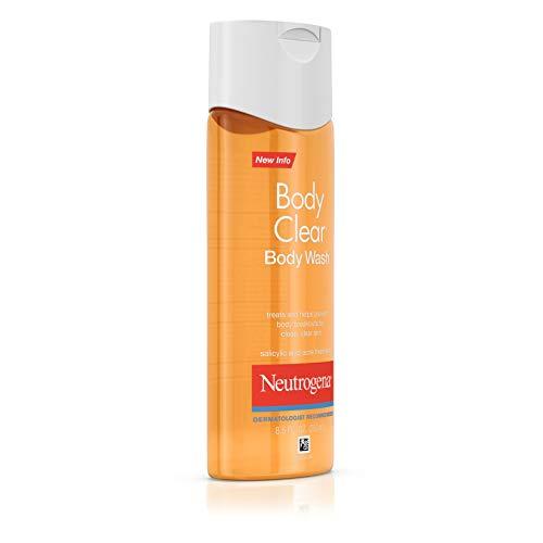 Neutrogena Body Clear Acne Body Wash with Glycerin & Salicylic Acid Acne Medicine for Acne-Prone Skin, Non-Comedogenic, 8.5 fl. Oz (Pack of 6) by Neutrogena (Image #2)