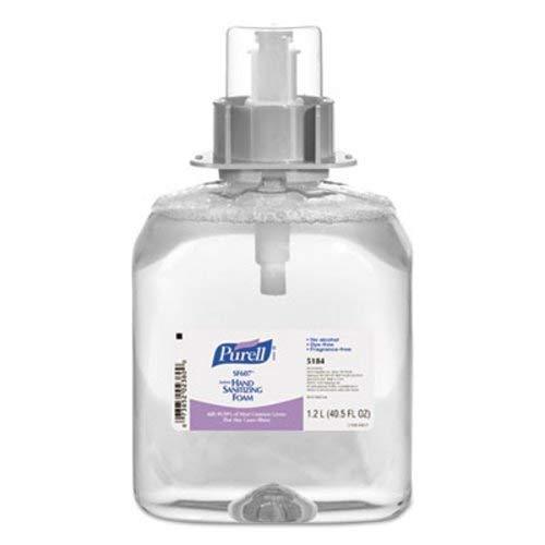 PURELL Sf607 Instant Hand Sanitizer Foam, 1200Ml Refill, Clear, 3/Carton