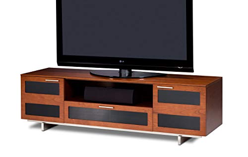 - BDI Avion 8929 Quad Wide Entertainment Cabinet, Natural Stained Cherry