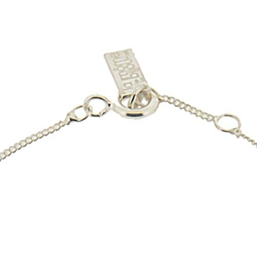 La Môme Bijou Bracelet Charms Plaqué Argent et laque Crazy de 15-16cm