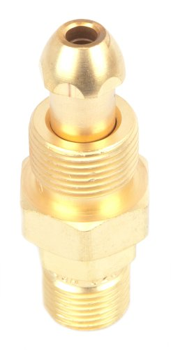 - Forney 87808 Argon/Nitrogen Regulator Adapter, CGA 580 To CGA 320, Tank to CO2 Cylinder