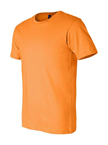 Bella + Canvas Unisex Jersey Short-Sleeve T-Shirt, Small, ORANGE