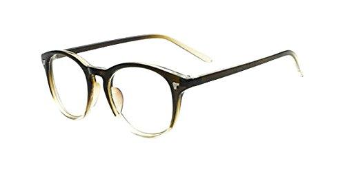 Green Vintage Men Women Eyeglass Frame Glasses Retro Spectacles Clear Lens Eyewear - Frames Spectacles Police