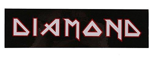 """Diamond Supply Co 8"""" Black White Maiden Sticker"""