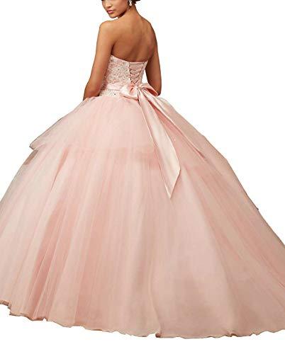 Da Sera Sposa Vestito Jaeden Quinceanera Tulle Lungo Arancione Donne Ballo Abiti f5RFUcqH