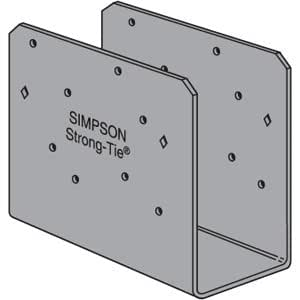 (1 Count) Simpson Strong-Tie CCOQ6-SDS2.5 6X Column Cap Only With Screws
