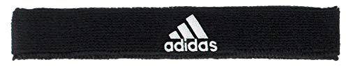 adidas Unisex Interval Slim Headband, Black/White, ONE SIZE