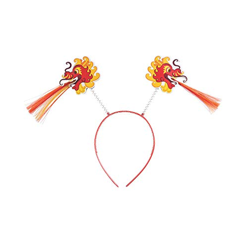 Fun Express - Chinese New Year Head Boppers for Chinese New Year - Apparel Accessories - Hats - Head Boppers - Chinese New Year - 12 Pieces]()