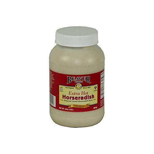 Beaver Extra Hot Horseradish, 2 Pound -- 6 per case. by Beaver (Image #1)