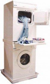 DREHFLEX® - Zwischenbaurahmen Waschsäule für Waschmaschine und Trockner / mit...