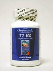 Nutricology TG100 Organic Gland - 100 Capsules