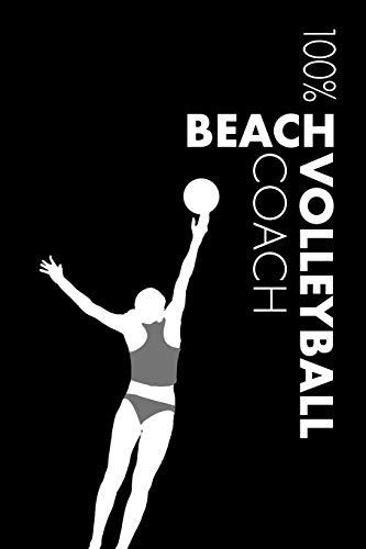Womens Beach Volleyball Coach Notebook: Blank Lined Womens Beach Volleyball Journal For Coach and Player por Elegant Notebooks