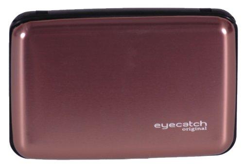 Eyecatch - Aluminum Business Kreditkarte ID Geldbörse Halter Tasche Waterproof Case Box Bronze