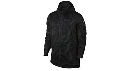 Nike Lebron Zip Front Jacket Size Medium Black Print