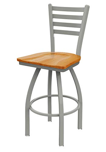 - Holland Bar Stool Co. 41030ANMedOak 410 Jackie Bar Stool, 30