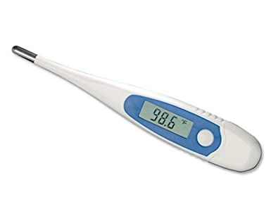 ADC Digital Stick Thermometer with Dual Scale Large LCD Display, Adtemp 415