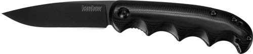 """Kershaw 2160294 2340X Am-5 Assisted Blade Open G10 Handle, Black, 3-1/2""""/7-3/4"""""""