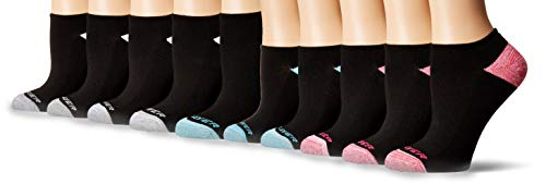 Pro Player Apparel - Pro Player ProPlayer Women's 10 Pack No Show Socks, black/blue, 9-11