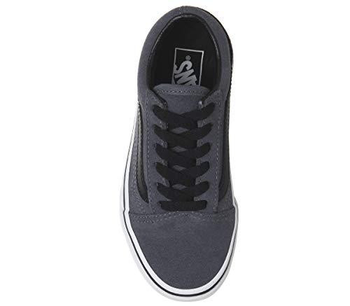 black Skool Zapatillas Old Infantil Vans ujl Grisaille Unisex suede xz81q