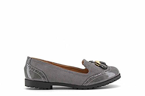 MODELISA Women's Loafer Flats Grey mVI7NU