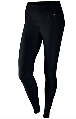 New Nike Women's Power Training Tights Black/Black/Cool Grey Large